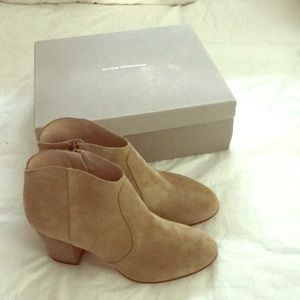 Club Monaco  Suede Brooklyn Booties SZ 39.5 US 9.5